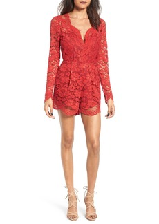 Lovers + Friends Eve Lace Romper