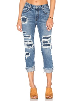Lovers + Friends Ezra Slim Boyfriend Jean
