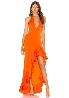 Lovers + Friends Fama Gown