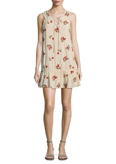 Lovers + Friends Floral Mini Shift Dress