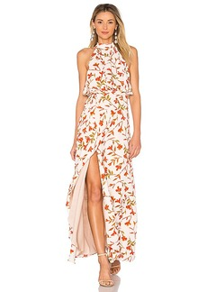 Lovers + Friends Golden Ray Maxi in Ivory. - size L (also in M,S,XS)