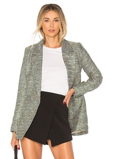 Lovers + Friends Grayson Jacket in Green. - size L (also in M,S,XS, XXS)