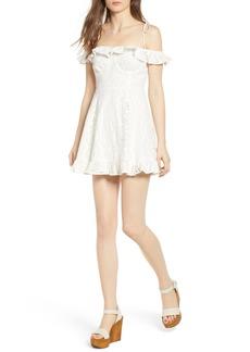 Lovers + Friends Kate Lace Minidress
