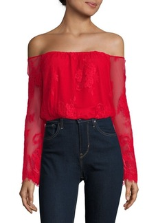Lovers + Friends Lady Love Off-The-Shoulder Top
