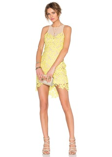 Lovers + Friends Larissa Dress in Yellow. - size L (also in M,S,XL, XS)