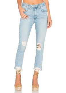 Lovers + Friends Logan High-Rise Tapered Jean. - size 26 (also in 24,25,27,28,29,30)