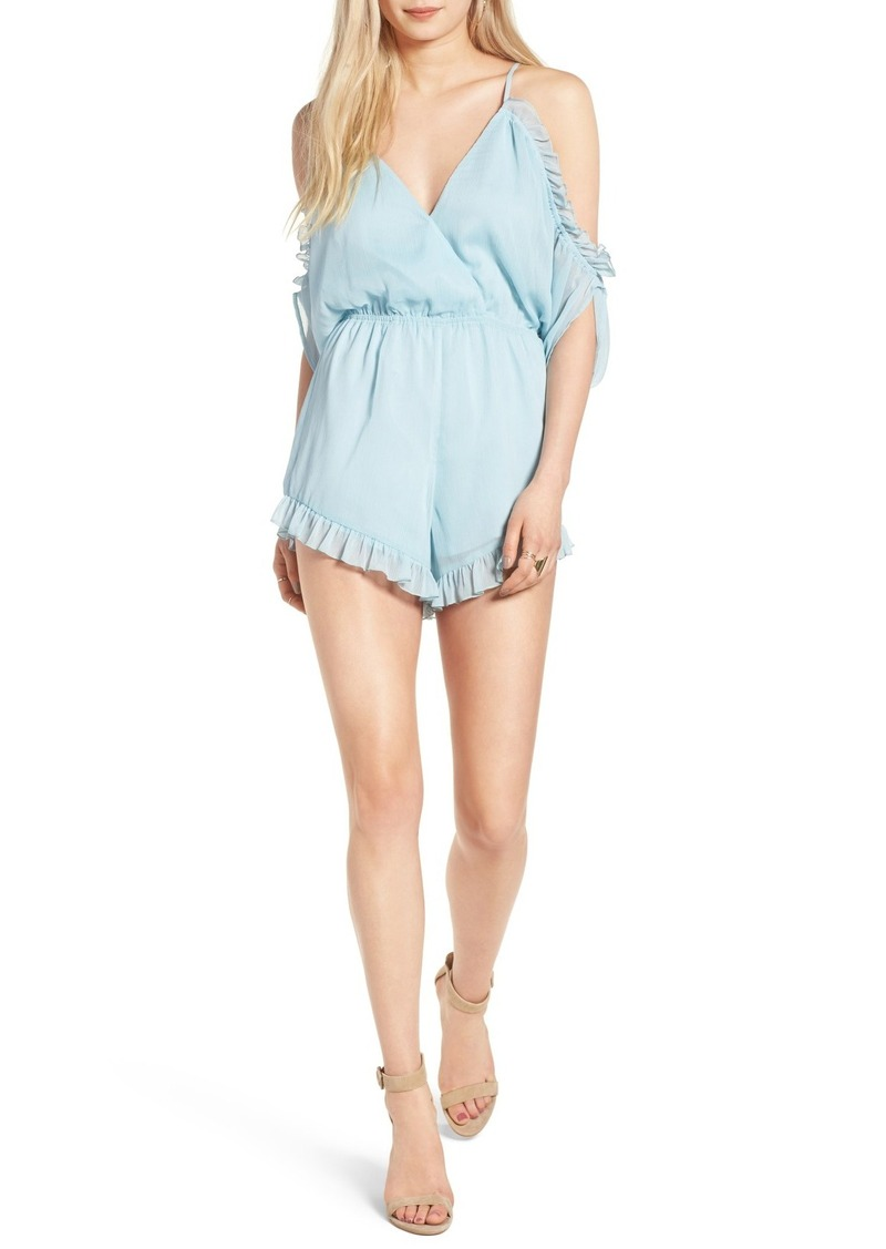 Lovers + Friends Malia Ruffle Romper