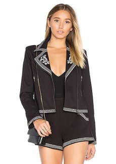 Lovers + Friends Moonrise Jacket in in Black. - size M (also in S,XS)