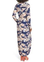Lovers + Friends 'My Love' Floral Print Maxi Dress