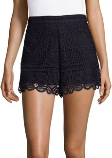 Lovers + Friends Night Bloom Lace Shorts