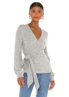 Lovers + Friends Nolen Tie Front Sweater