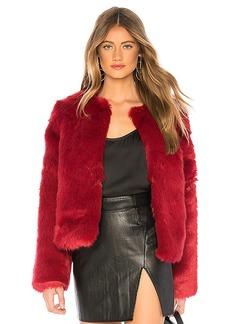 Lovers + Friends NYC Faux Fur Jacket