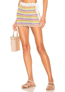 Lovers + Friends Over The Rainbow Skirt