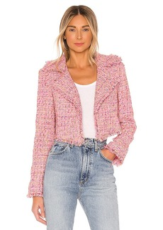 Lovers + Friends Paola Cropped Jacket