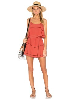 Lovers + Friends Paradise Bay Dress in Rust. - size S (also in XS,M)