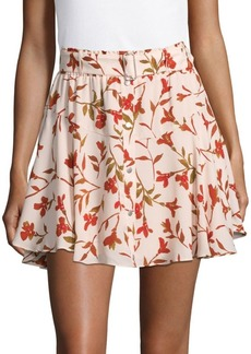 Lovers + Friends Printed Fountain Mini Skirt