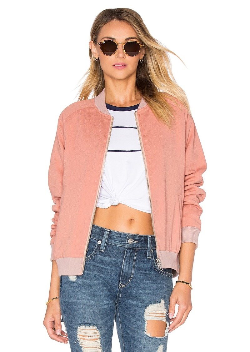 Lovers + Friends Roadtrippin Bomber Jacket