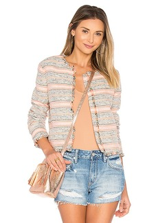 Lovers + Friends Royal Jacket in Pink. - size M (also in S,XS)