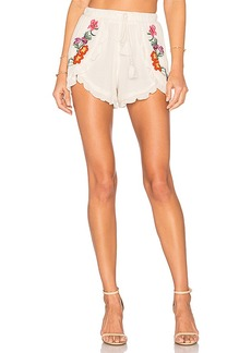 Lovers + Friends Serene Shorts in Ivory. - size M (also in S,L)