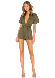 Lovers + Friends Simon Romper