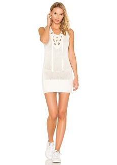 Lovers + Friends Simply Mine Sweater Dress in White. - size M (also in S,XS)