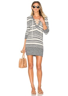 Lovers + Friends Simply Mine Sweater Dress in White. - size L (also in M,S)