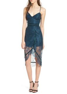 Lovers + Friends Skylight Lace Midi Dress