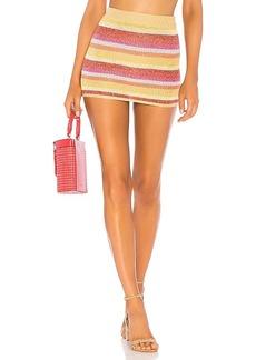 Lovers + Friends Sunset Sweater Skirt