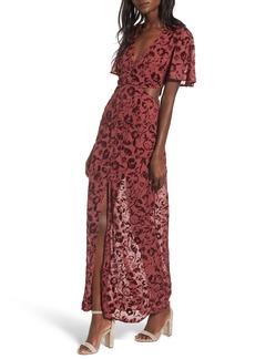 Lovers + Friends Tatum Cutout Maxi Dress