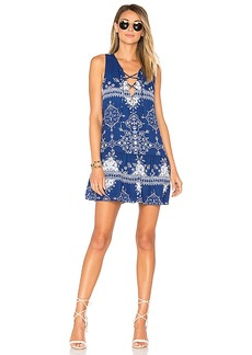 Lovers + Friends Temple Dress in Blue. - size S (also in L,M,XL, XS)