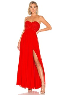 Lovers + Friends Theo Gown