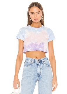 Lovers + Friends Tie Dye Crop Tee