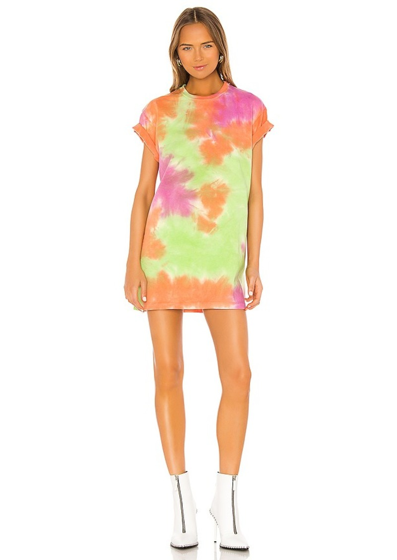 Lovers + Friends Tie Dye Tee Dress