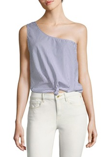 Lovers + Friends Tie That One-Shoulder Top