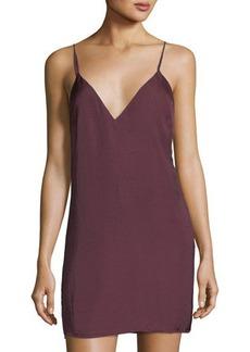 Lovers + Friends V-Neck Slip Mini Dress