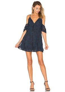 Lovers + Friends Wishful Dress in Navy. - size L (also in M,S,XS)