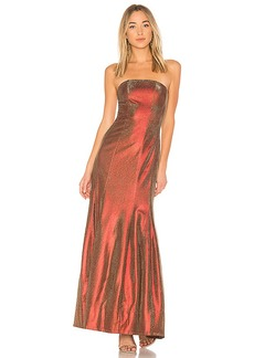 Lovers + Friends x REVOLVE Abra Gown in Red. - size L (also in XXS, XS,S,M,XL)