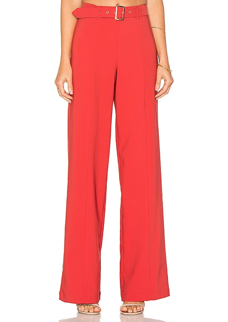 X REVOLVE Take It Higher Pant in Red. - size M (also in L,S) Lovers + Friends