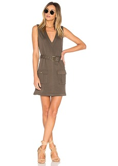 Lovers + Friends x REVOLVE Axel Dress in Army. - size L (also in M,S,XL, XS)