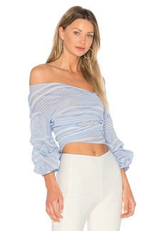 Lovers + Friends Bow Blouse