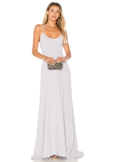 Lovers + Friends x REVOLVE Brantford Gown in Blue. - size L (also in S,XS,M)