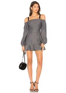 Lovers + Friends x REVOLVE Chance Dress in Charcoal. - size L (also in M,S,XS, XXS)