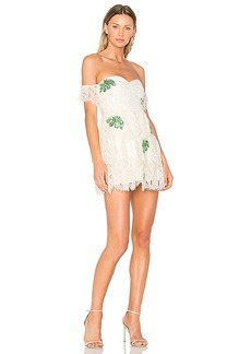 Lovers + Friends x REVOLVE Charleston Dress in White. - size L (also in M,S,XS)