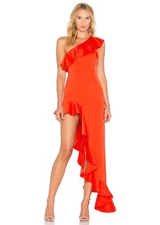 Lovers + Friends x REVOLVE Chasity Gown in Red. - size S (also in L,M,XS)