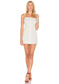 Lovers + Friends X REVOLVE Elena Mini Dress in Ivory. - size L (also in M,S,XL, XS)