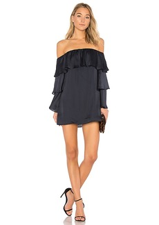 Lovers + Friends x REVOLVE Etra Dress in Navy. - size M (also in L,S,XS)