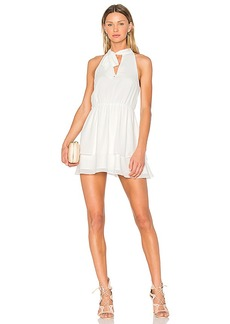 Lovers + Friends x REVOLVE Flower Blossom Dress in White. - size L (also in M,S,XS)