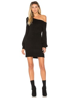 Lovers + Friends X REVOLVE Fun Seeker Sweater Dress in Black. - size S (also in XS)