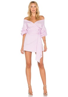 Lovers + Friends X REVOLVE Gabriel Dress in Lavender. - size S (also in M,XS)
