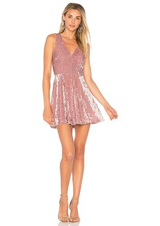 Lovers + Friends X REVOLVE Geneva Dress in Blush. - size M (also in L,S,XS)